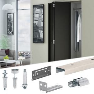 SLID'UP 200 – Bifold closet door hardware kit