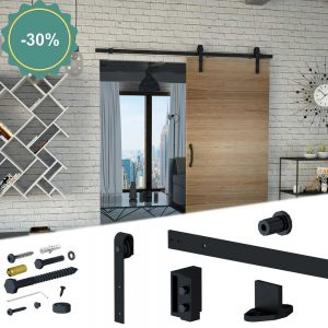 SLID'UP 240 - Sliding barn door hardware kit discount