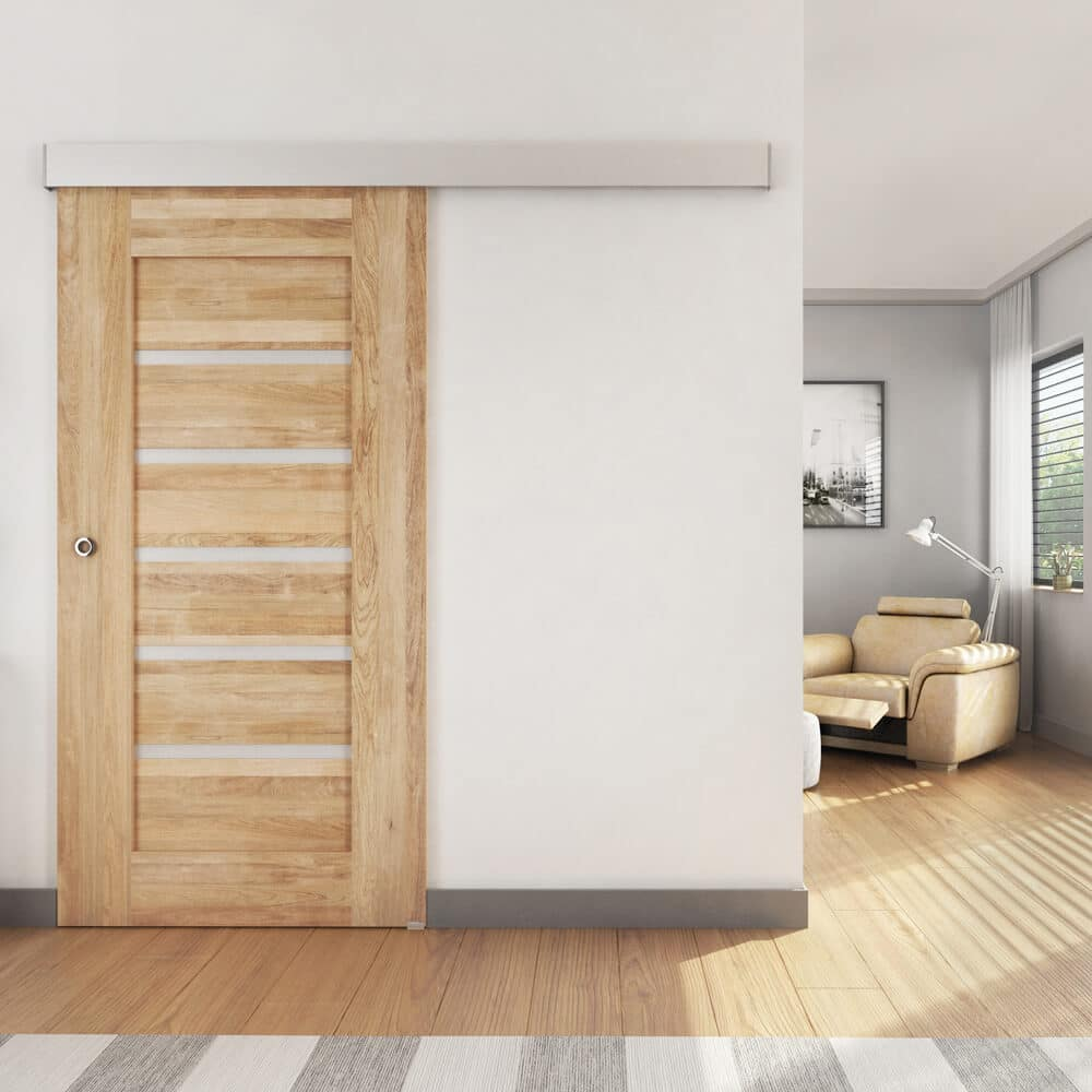 Ambiance image of a partition door