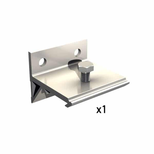 Quantity of wall mounting bracket for SLID'UP 1000