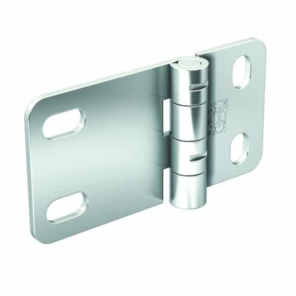 Galvanized Steel Hinge – 1/4″ axle diameter – 1-9/16″ height