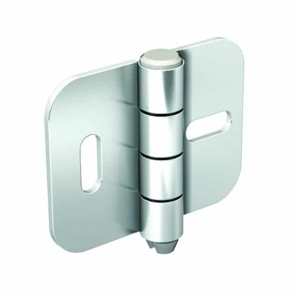 Galvanized Steel Hinge – 5/16″ axle diameter – 2″ height