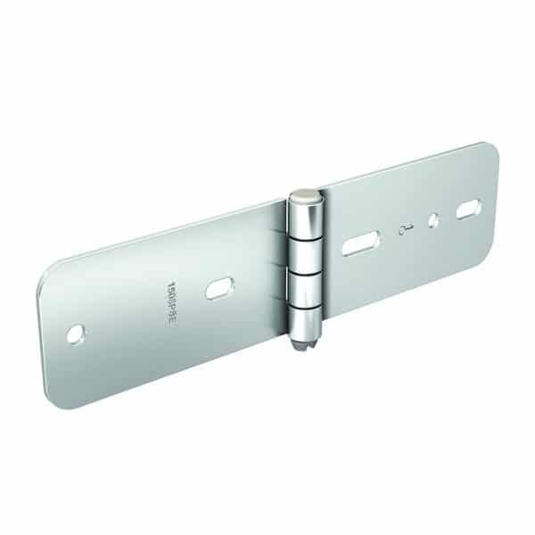 Galvanized Steel Hinge – 5/16″ axle diameter – 4-1/2″ height