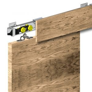 Ambiance image of our brackets for wooden fascia cover for SLID'UP 160, 170, 190