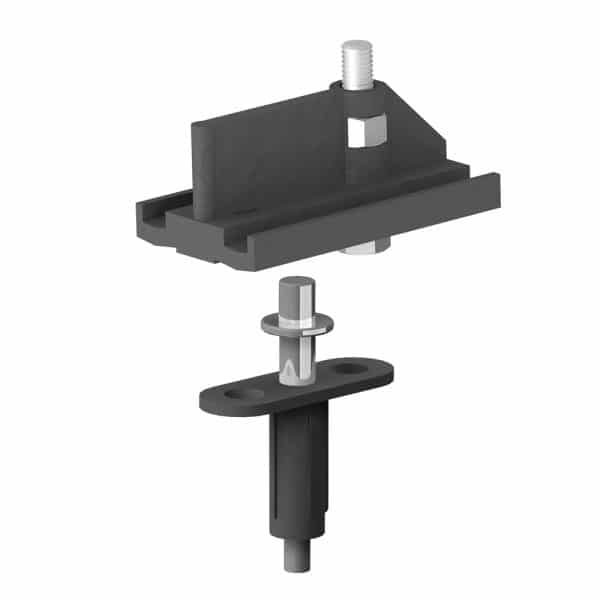 Top pivot bracket for bifold doors for SLID'UP 140, 150