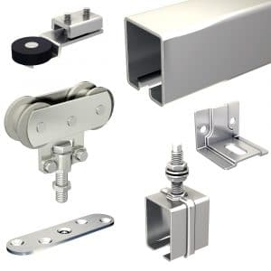 SLID'UP 1700 – Sliding door hardware kit