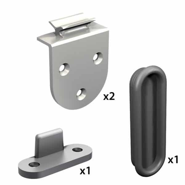 Quantity of items in our cabinet door sliders kit for SLID'UP 1900