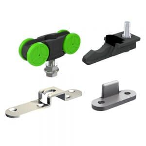 Sliding door roller kit for SLID'UP 2200